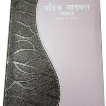 Hindi Double Colour Bible with Index