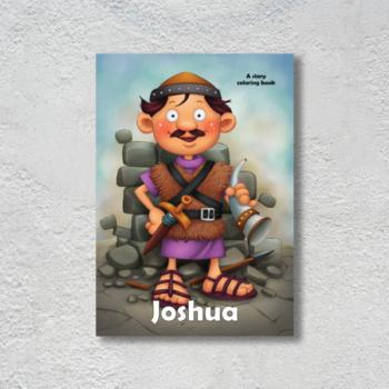 JOSHUA COLORING BOOK