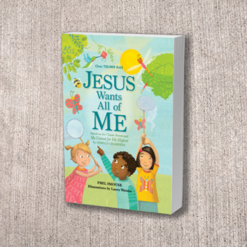 Jesus Wants All of Me – Devotional for kids 5 – 7 yrs old