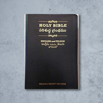 The Holy Bible English Standard Version-Telugu Diglot, Gilt (Telugu)