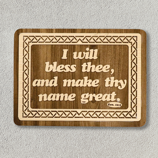 wooden-frame-16-12-iWIllBlessThee