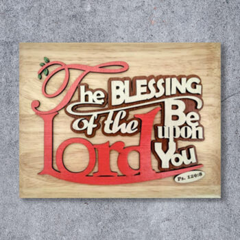 wooden-frame-verse-embossed-theBlessingOfTheLord