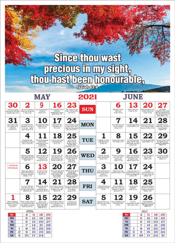 May June 2021