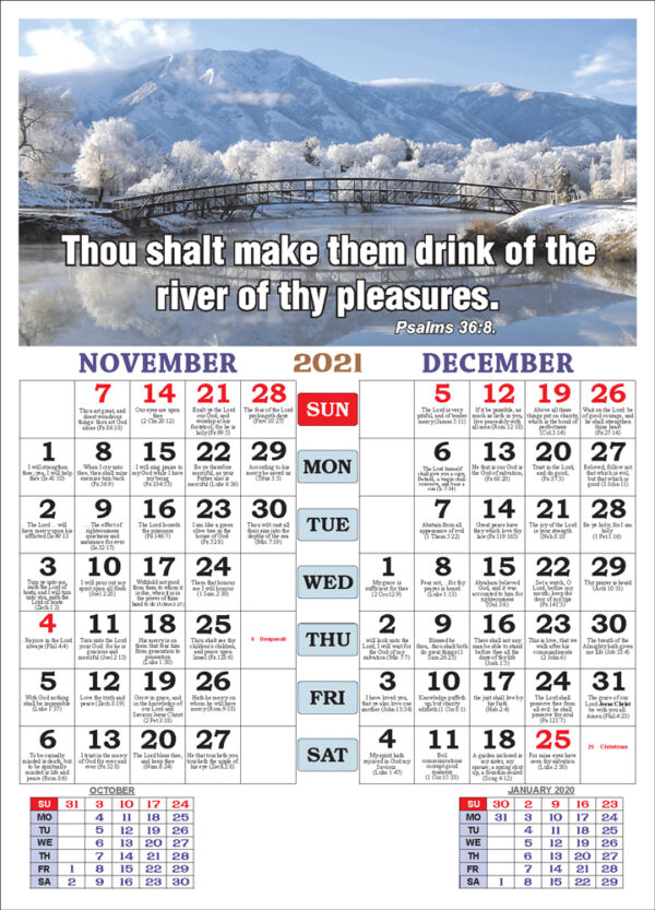 November December 2021