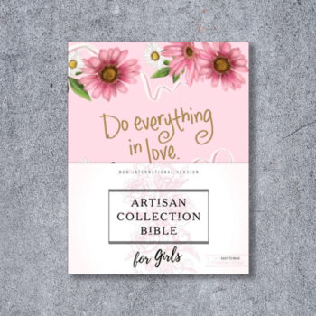 NIV Artisan Collection Bible for Girls